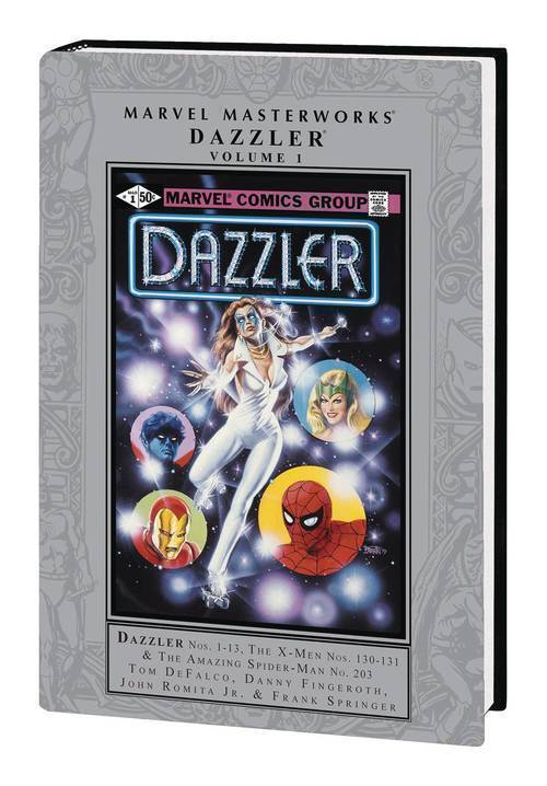 Marvel comics mmw dazzler hardcover volume 1 20190828
