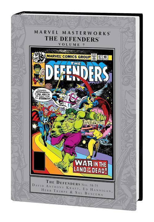 Marvel comics mmw defenders hardcover volume 07 20200225