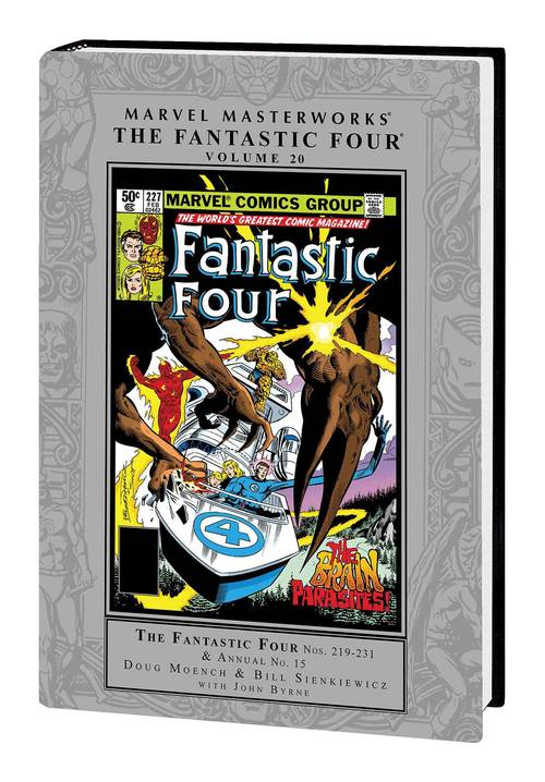 Marvel comics mmw fantastic four hardcover vol 20 20180302