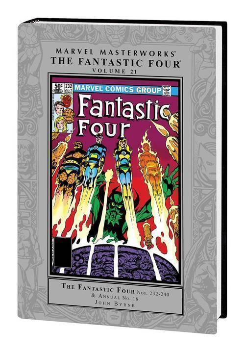 Marvel comics mmw fantastic four hardcover volume 21 20190529