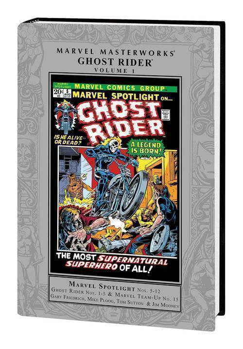 Marvel comics mmw ghost rider hardcover vol 01 20190327