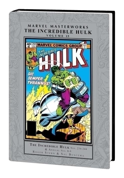 Marvel comics mmw incredible hulk hardcover vol 15 20201028