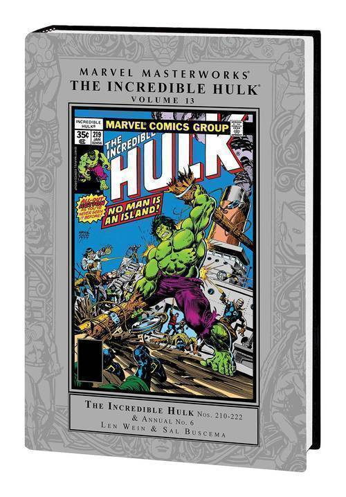 MMW Incredible Hulk Hardcover Volume 13