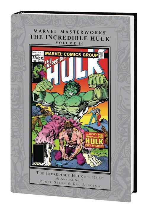 Marvel comics mmw incredible hulk hardcover volume 14 20200128
