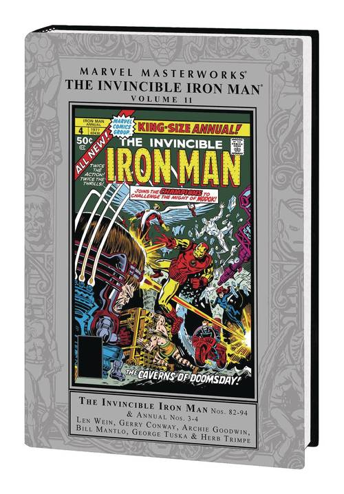 Marvel comics mmw invincible iron man hardcover vol 11 20180329