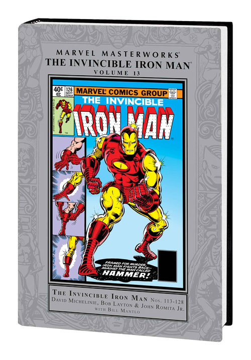 Marvel comics mmw invincible iron man hardcover volume 13 20200826