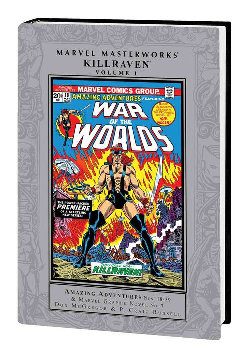 Marvel comics mmw killraven hardcover vol 01 20180302