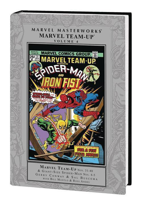 Marvel comics mmw marvel team up hardcover vol 04 20180701