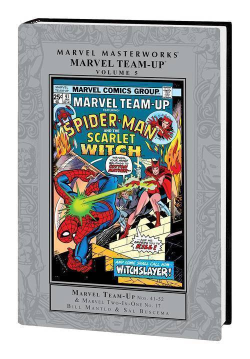 Marvel comics mmw marvel team up hardcover volume 5 20191127