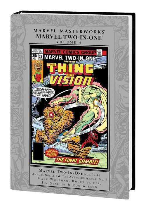 Marvel comics mmw marvel two in one hardcover vol 04 20190129