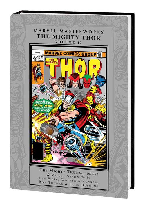 Marvel comics mmw mighty thor hardcover volume 17 20180430