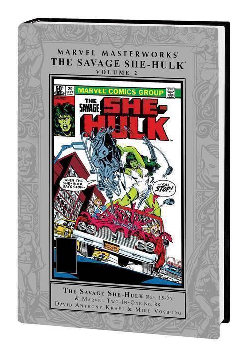Marvel comics mmw savage she hulk hardcover volume 02 20181025