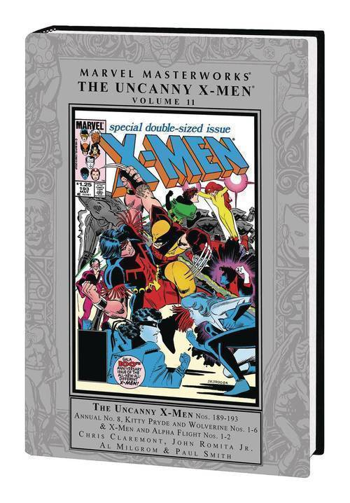 Marvel comics mmw uncanny x men hardcover vol 11 20180701