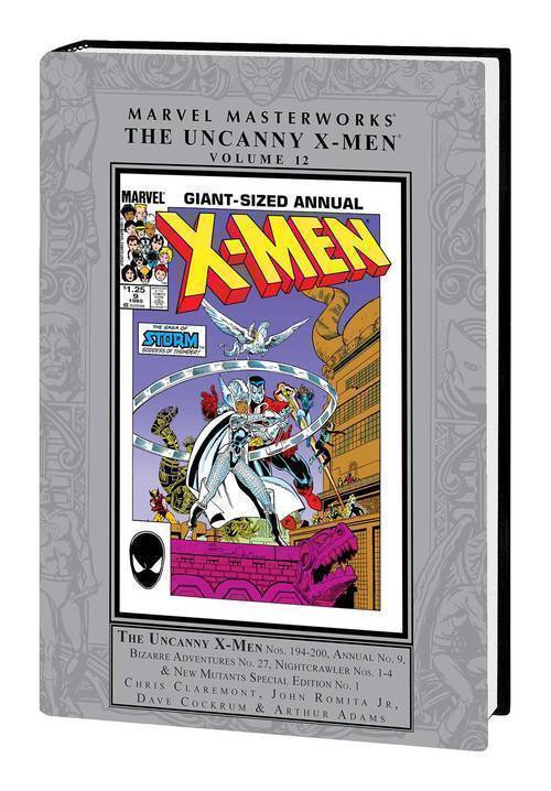 Marvel comics mmw uncanny x men hardcover volume 12 20190730