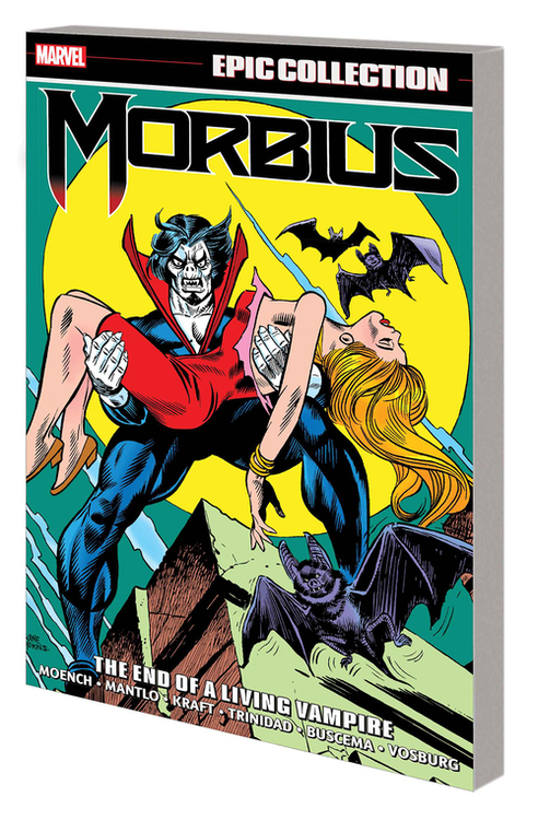 Morbius Epic Collection TPB End Living Vampire