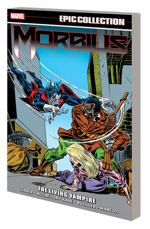 Marvel comics morbius epic collection tpb living vampire 20201028