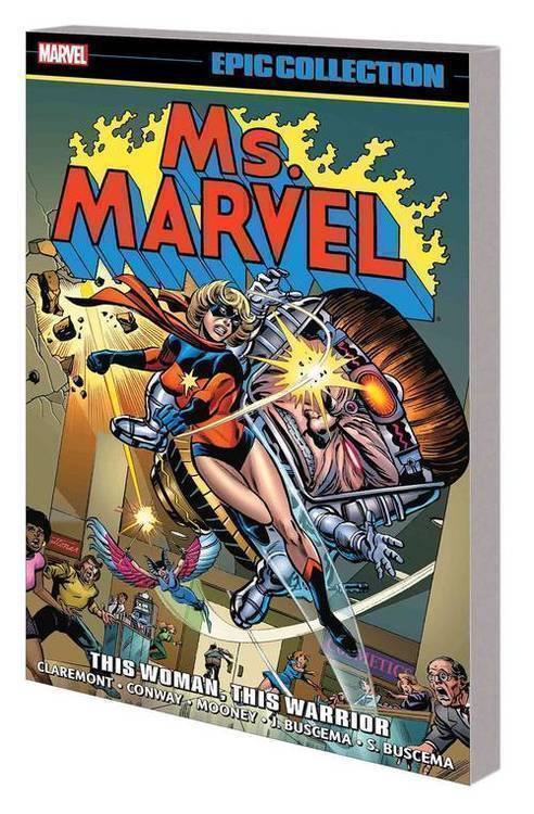 Marvel comics ms marvel epic collection tpb woman warrior 20180928