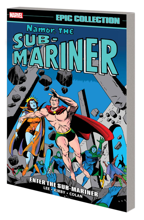 Namor Sub-Mariner Epic Collection TPB Enter Sub-Mariner