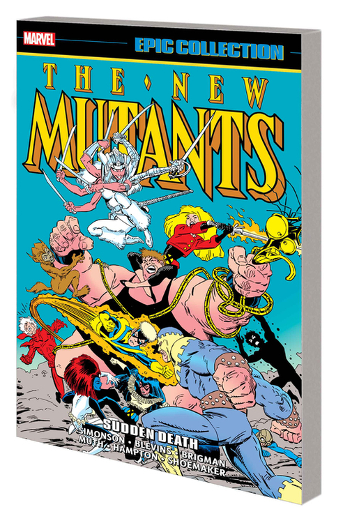 New Mutants Epic Collection TPB Sudden Death