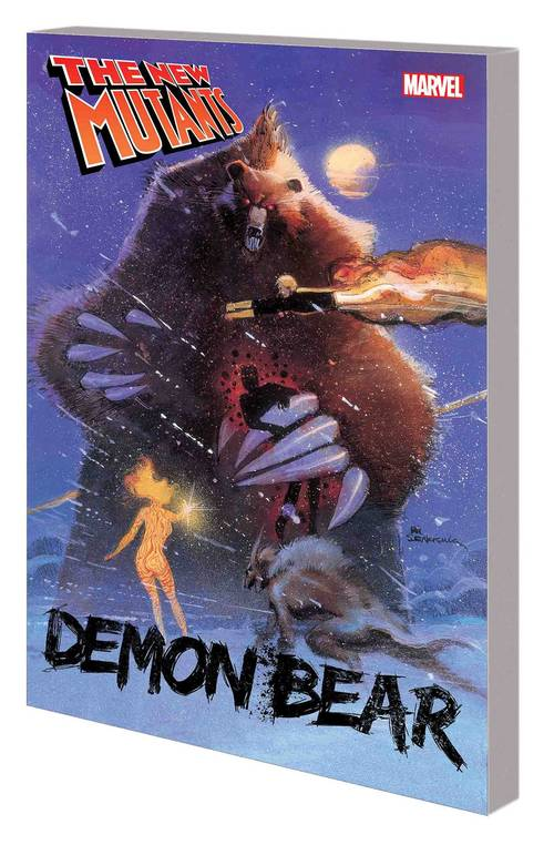Marvel comics new mutants tpb demon bear 20171231