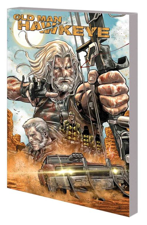 Marvel comics old man hawkeye tpb volume 01 an eye for eye 20180430
