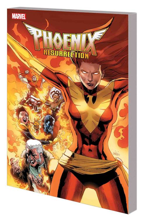 Marvel comics phoenix resurrection return jean grey tpb 20171231