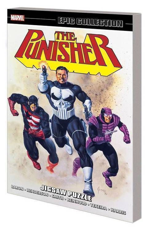 Punisher Epic Collection TPB Jigsaw Puzzle
