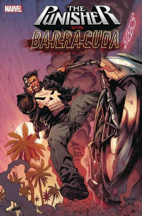 Marvel comics punisher vs barracuda 20200128