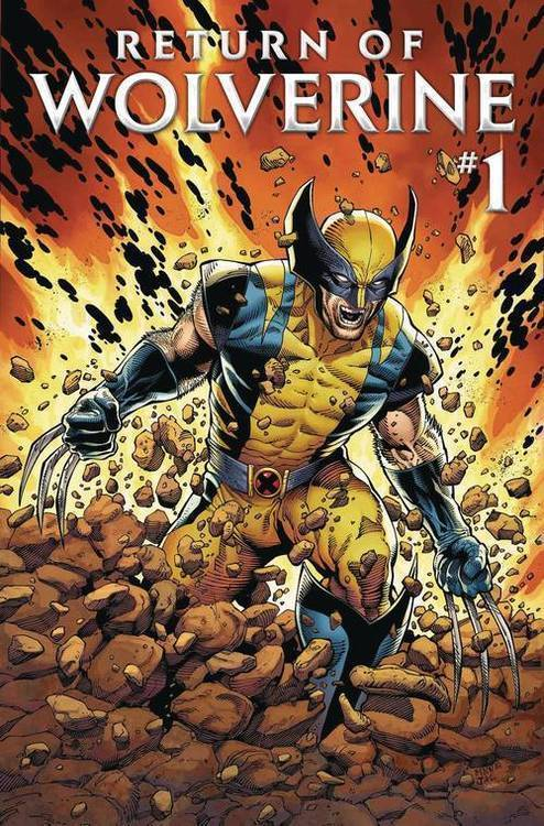 Marvel comics return of wolverine 20180701