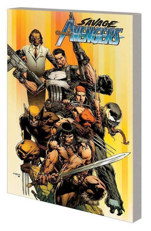 Marvel comics savage avengers tpb city of sickels volume 1 20190730