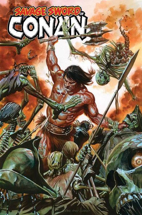 Marvel comics savage sword of conan 20181130