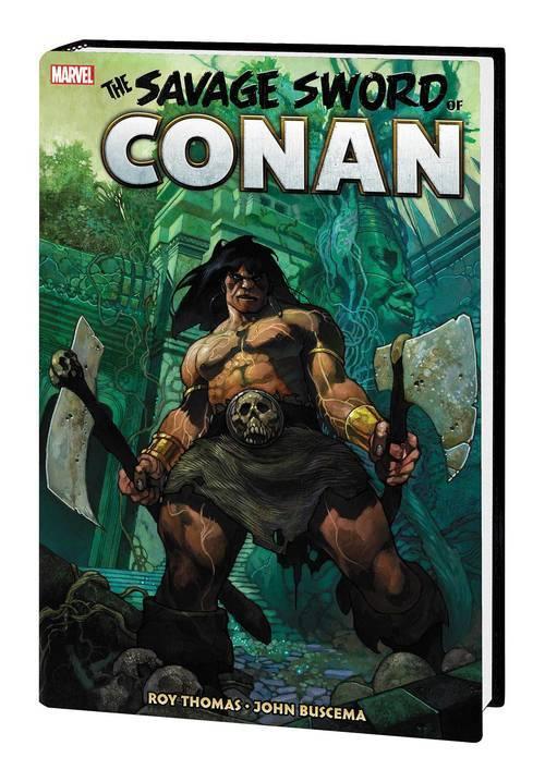 Savage Sword Of Conan Original Marvel Years Omnibus Hardcover Volume 02