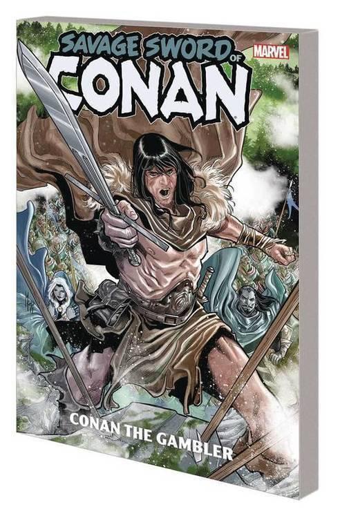 Savage Sword Of Conan TPB Conan Gambler