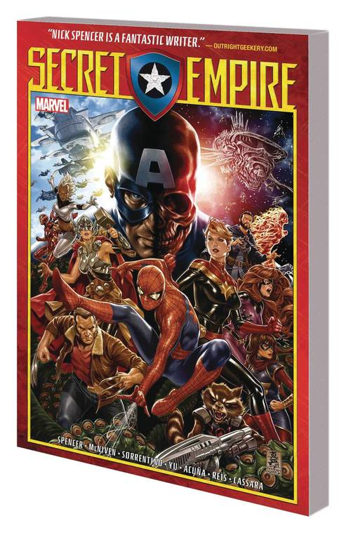 Marvel comics secret empire tpb 20180329