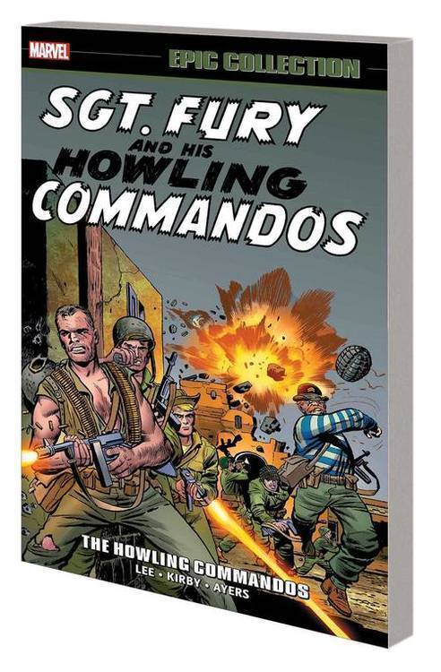 Marvel comics sgt fury epic collection tp howling commandos 20181231