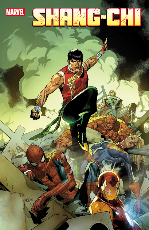 Marvel comics shang chi 20210224