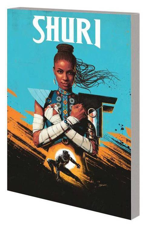 Shuri TPB Volume 01 Search For Black Panther