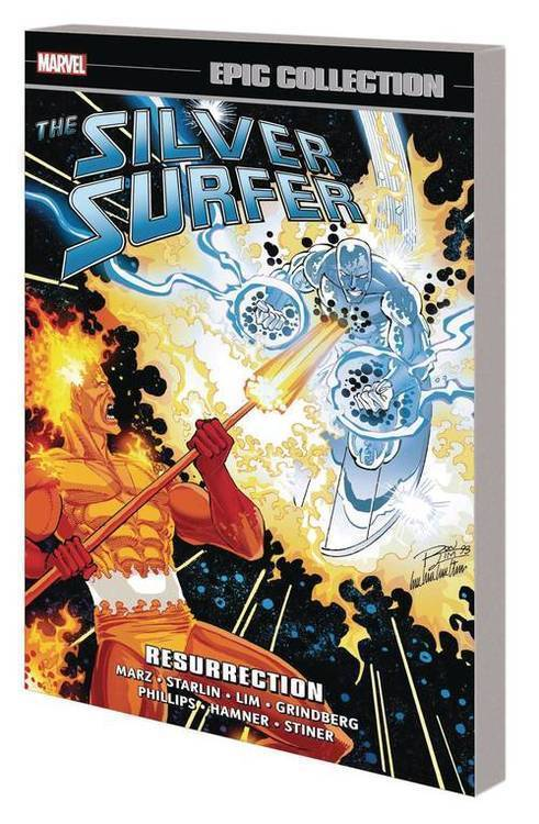 Silver Surfer Epic Collection TPB Resurrection