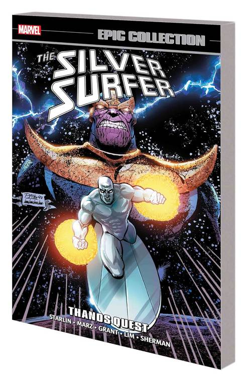 Marvel comics silver surfer epic collection tpb thanos quest 20180302