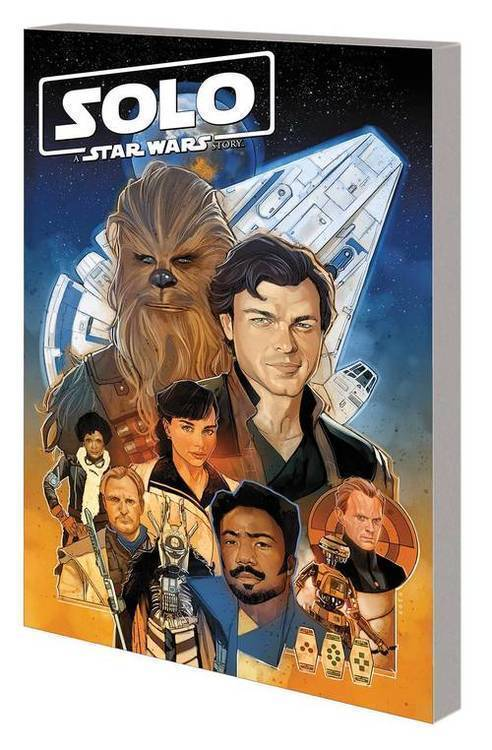 Marvel comics solo tpb star wars story adaptation 20190129
