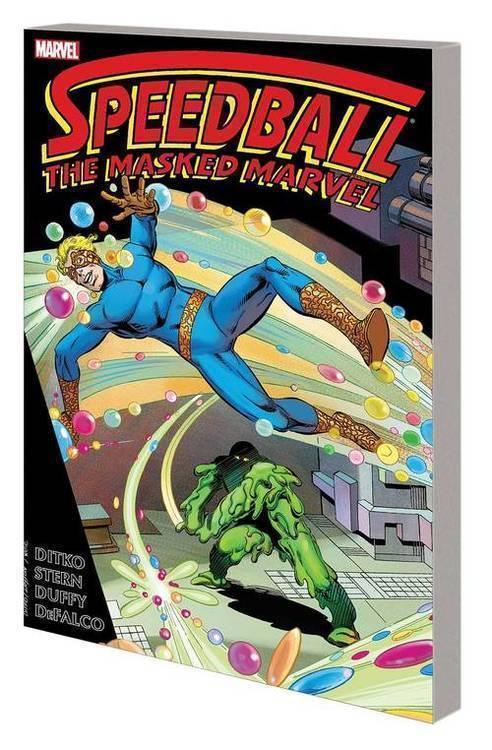 Speedball TPB Masked Marvel