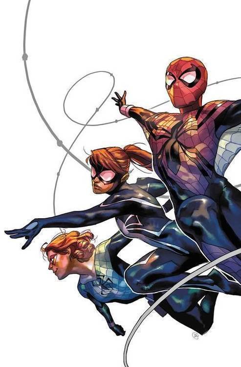 Marvel comics spider girls 20180801