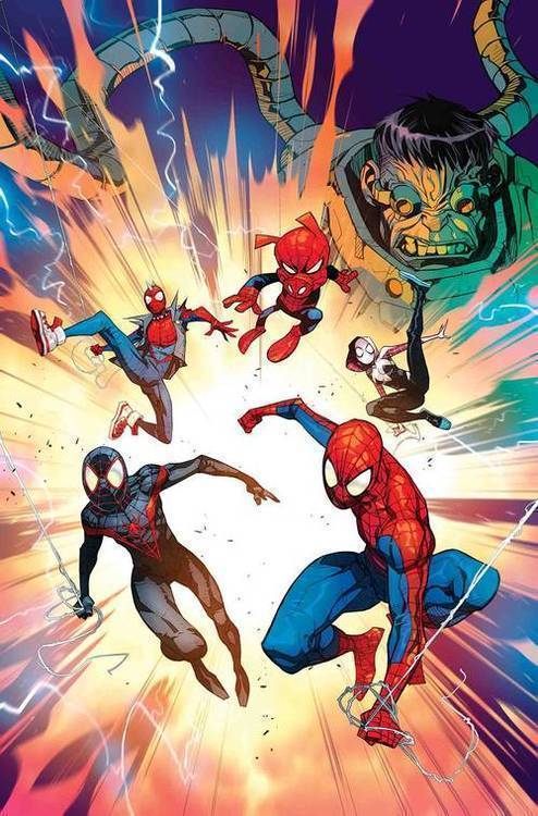 Marvel comics spider man into the spider verse 20180830