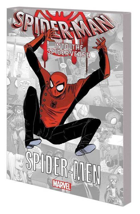 Marvel comics spider man into the spider verse graphic novel tpb spider men 20180801
