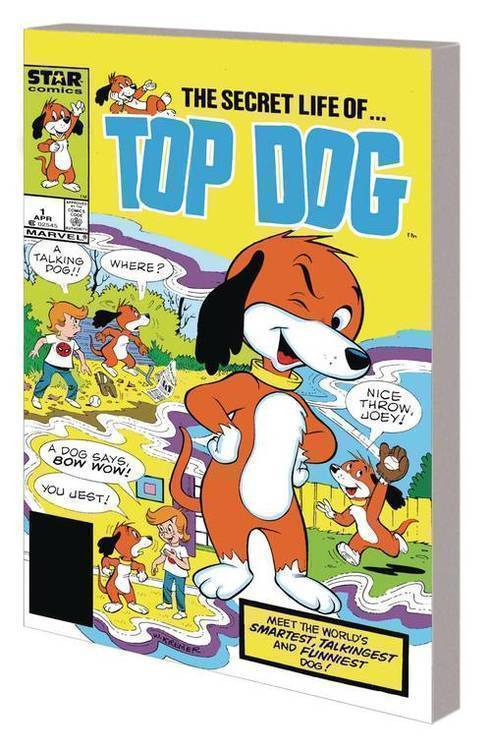 Marvel comics star comics top dog complete collection tpb 20200128