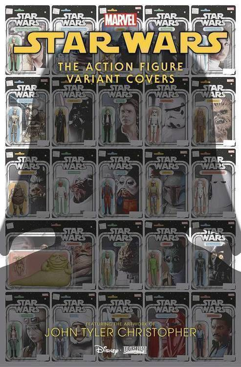 Marvel comics star wars action figure variant covers 1 20200128