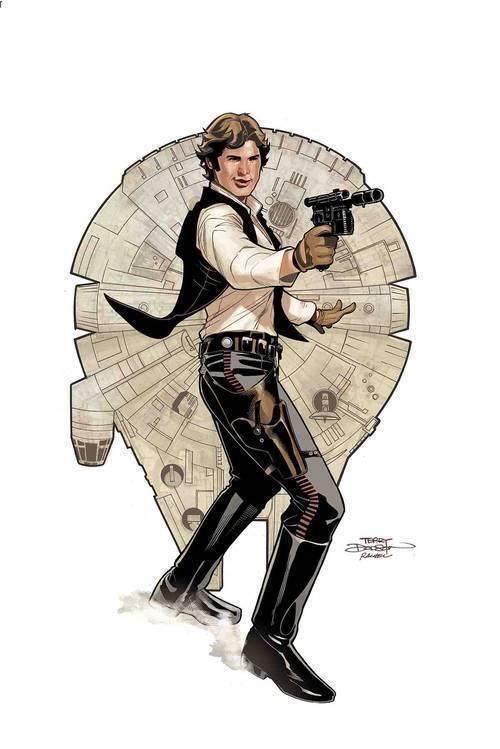 Marvel comics star wars age of rebellion han solo 20190225