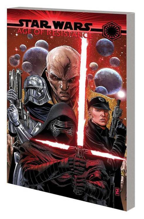 Marvel comics star wars age of resistance tpb villains 20190730