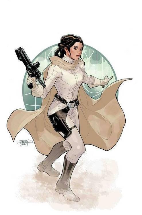 Marvel comics star wars aor princess leia 20190129