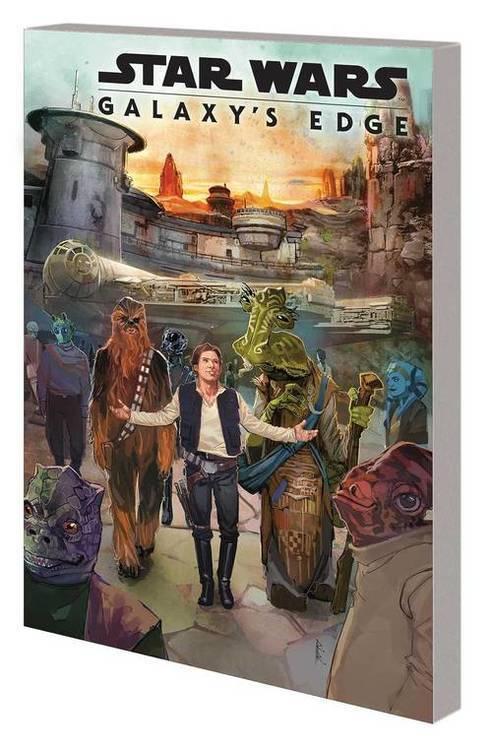 Star Wars Galaxys Edge TPB